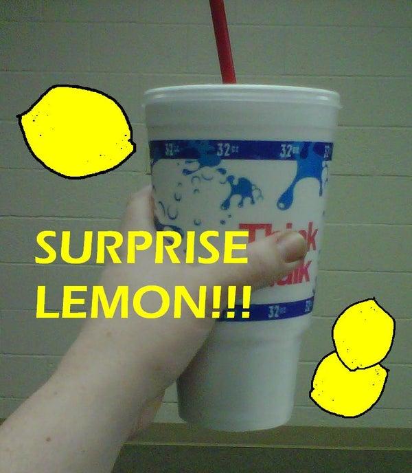Lemon Surprise Prank