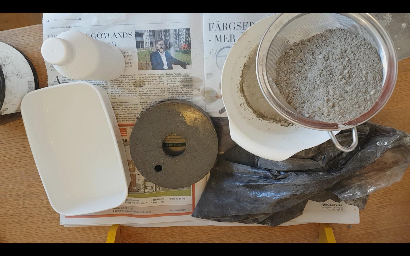 Make Slurry to Get Rid of the Concrete Pores.