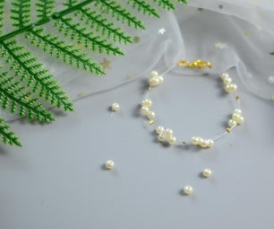 Beebeecraft Tutorials on How to Make Gypsophila Pearl Bracelet