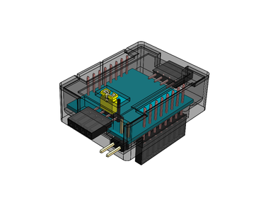 IOT123 - D1M BLOCK - 2xAMUX Assembly