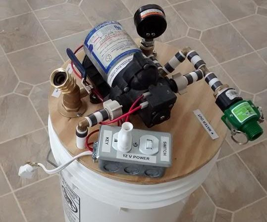 DIY 12 Volt On-Demand Water Pump System