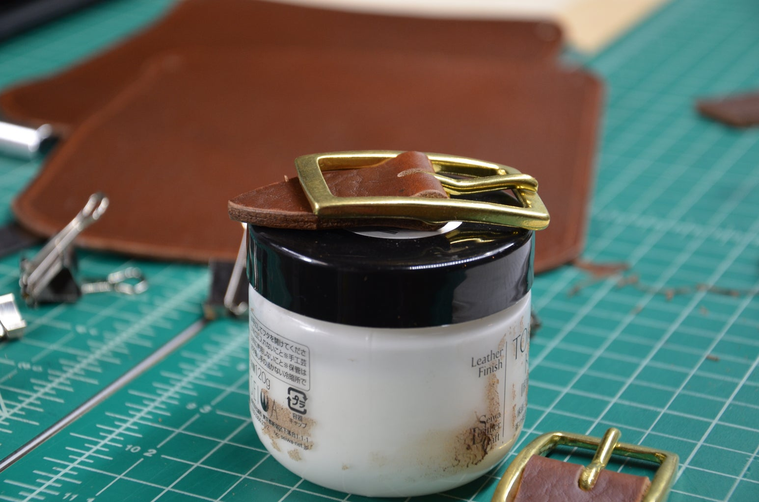 Step 5: Attaching Buckles
