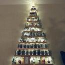 Upcycled Christmas Tree: Mason Jars and Soup Cans