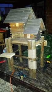 Cat House, Scratcher and Toys