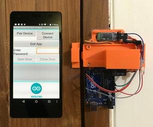 Arduino和基于Android的蓝牙控制密码保护门锁(版本2)