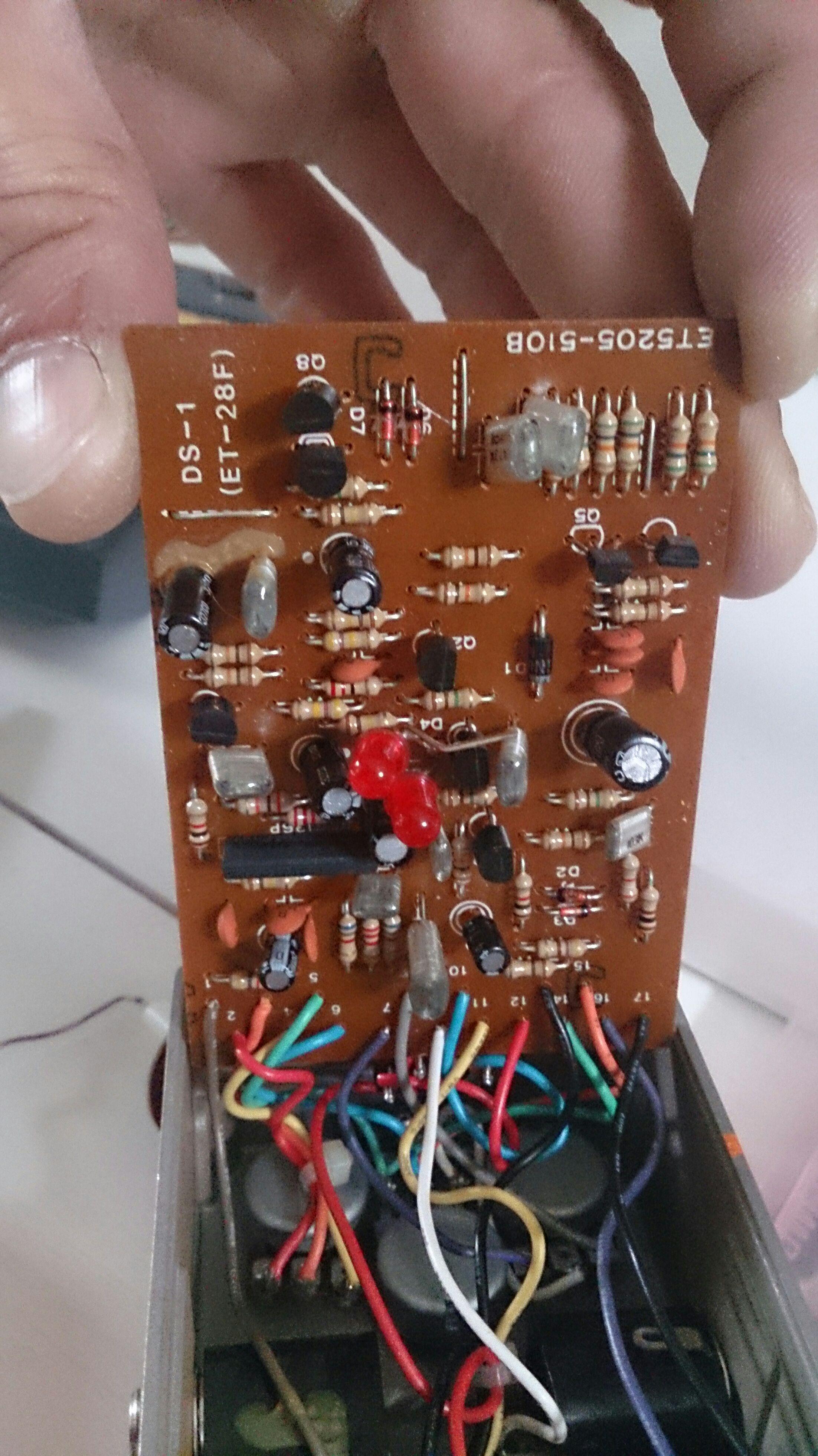 Boss DS-1 grit mod