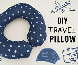 How to Sew a Travel Pillow