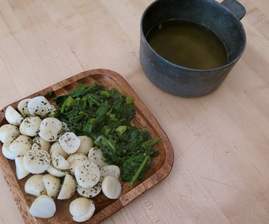 Dashi Broth Made with a French Press