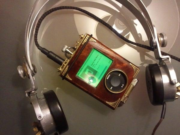 Steampunk IPod Portable Rig