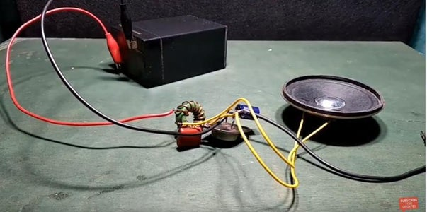 Solder the Battery Positive Terminal to the Red Wire and Negative Terminal to the Black Wire