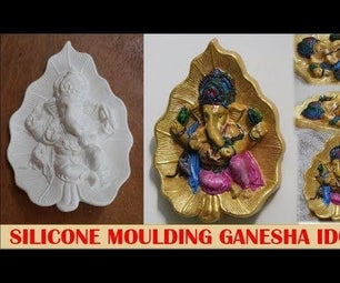 Molding Idols Using Silicone and Plaster of Paris