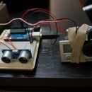 GoPro Ultrasonic Motion Sensor HC-SR04 controled by arduino