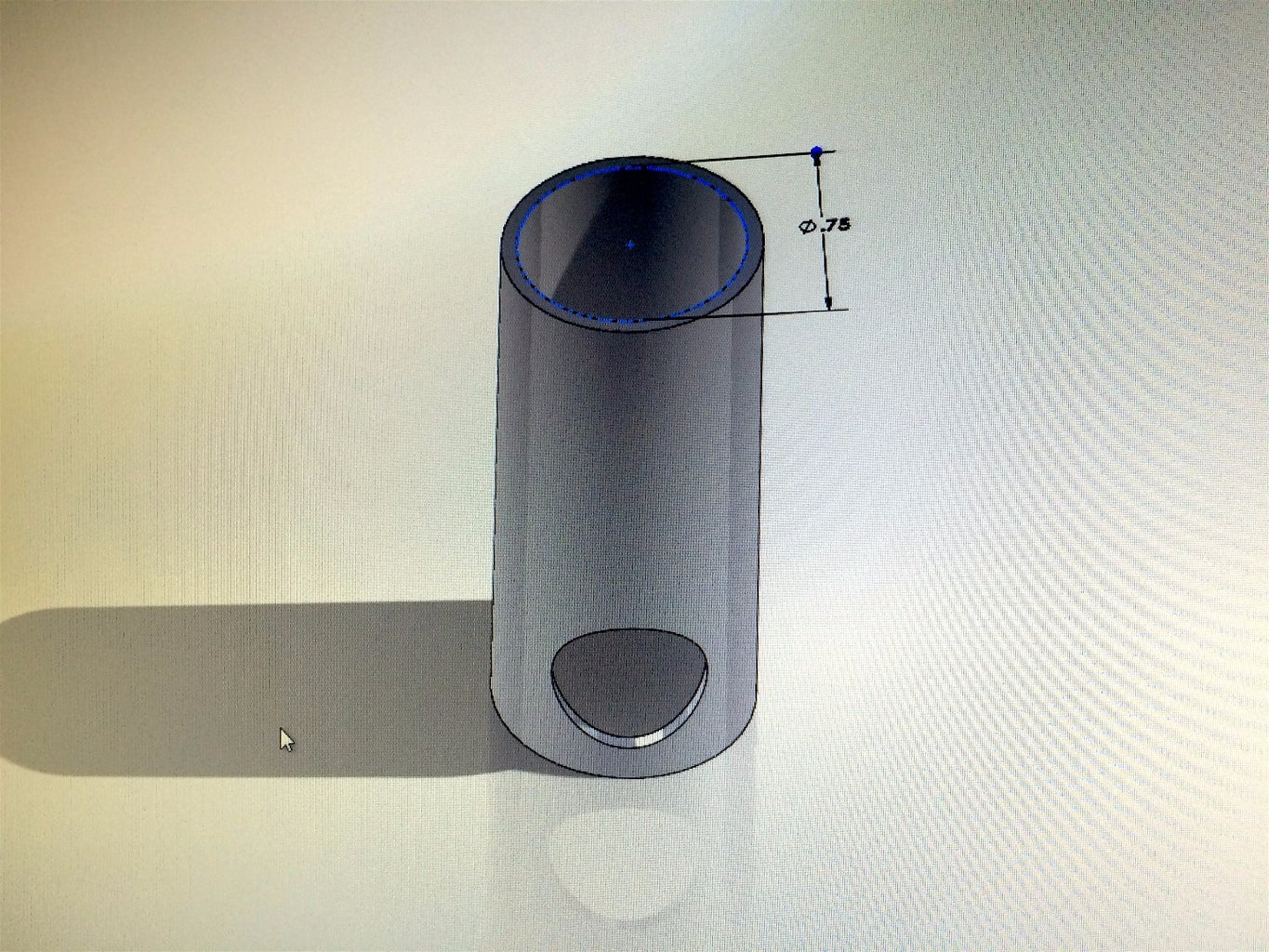 Modeling the Parts in CAD Program (Solidworks)