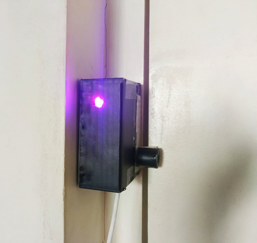 MODAS: Magnetic Open Door Alert System