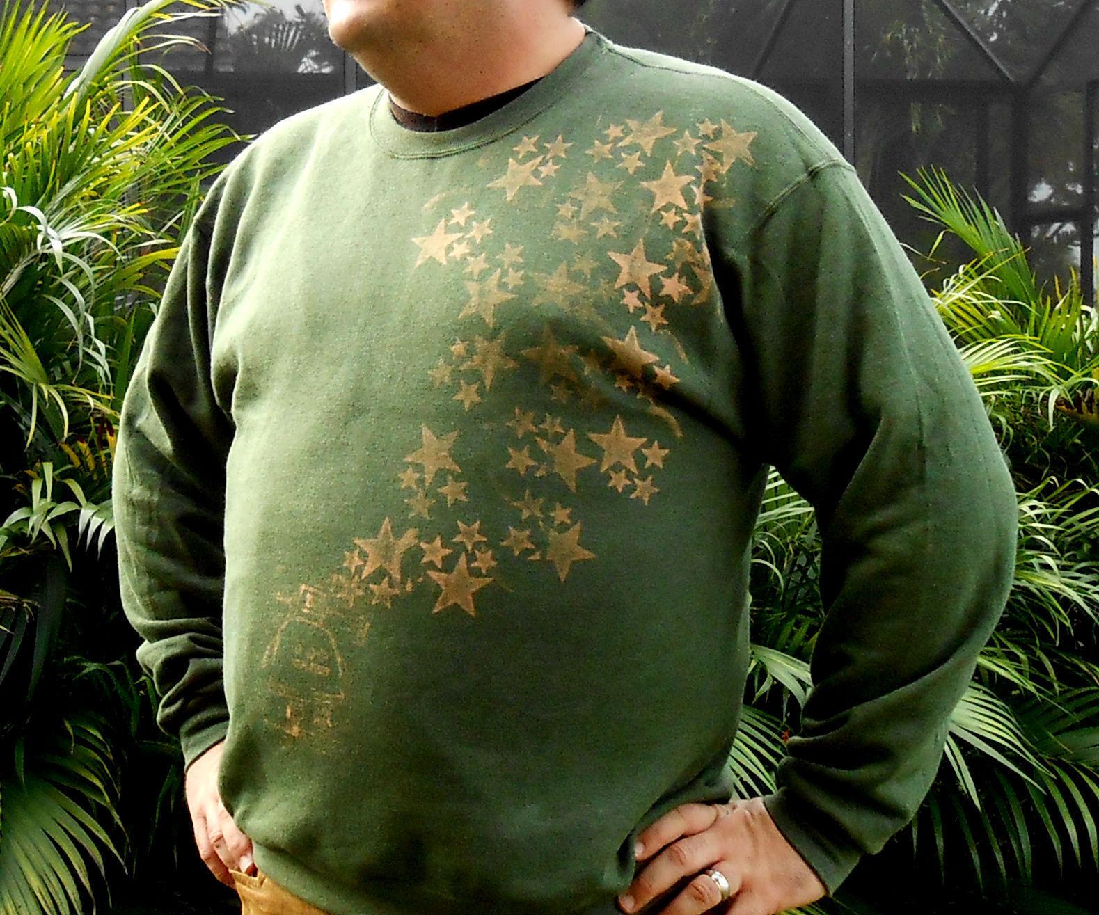 Bleach Stamped Sweatshirt