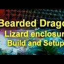 Bearded Dragon Lizard Enclosure