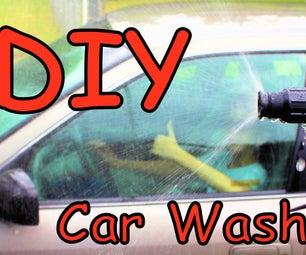 PVC Pipe Car Wash