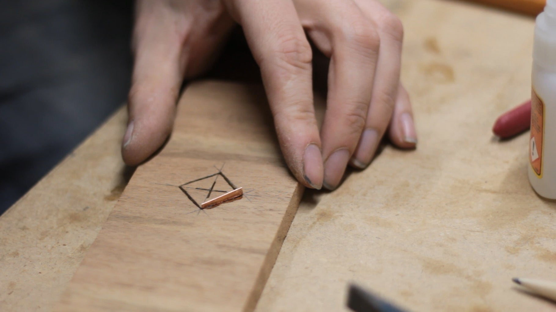 Copper Inlay