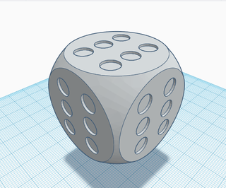 How to Make a Never-Lose Dice in TinkerCAD(Silly Solutions)