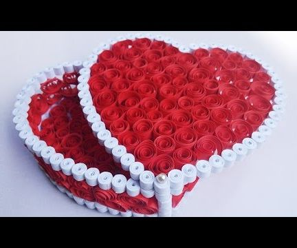 Quilling Heart Box by HandiWorks