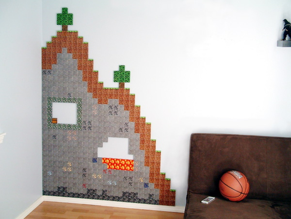 Build 3-D Papercraft Terrains: Minecraft Style