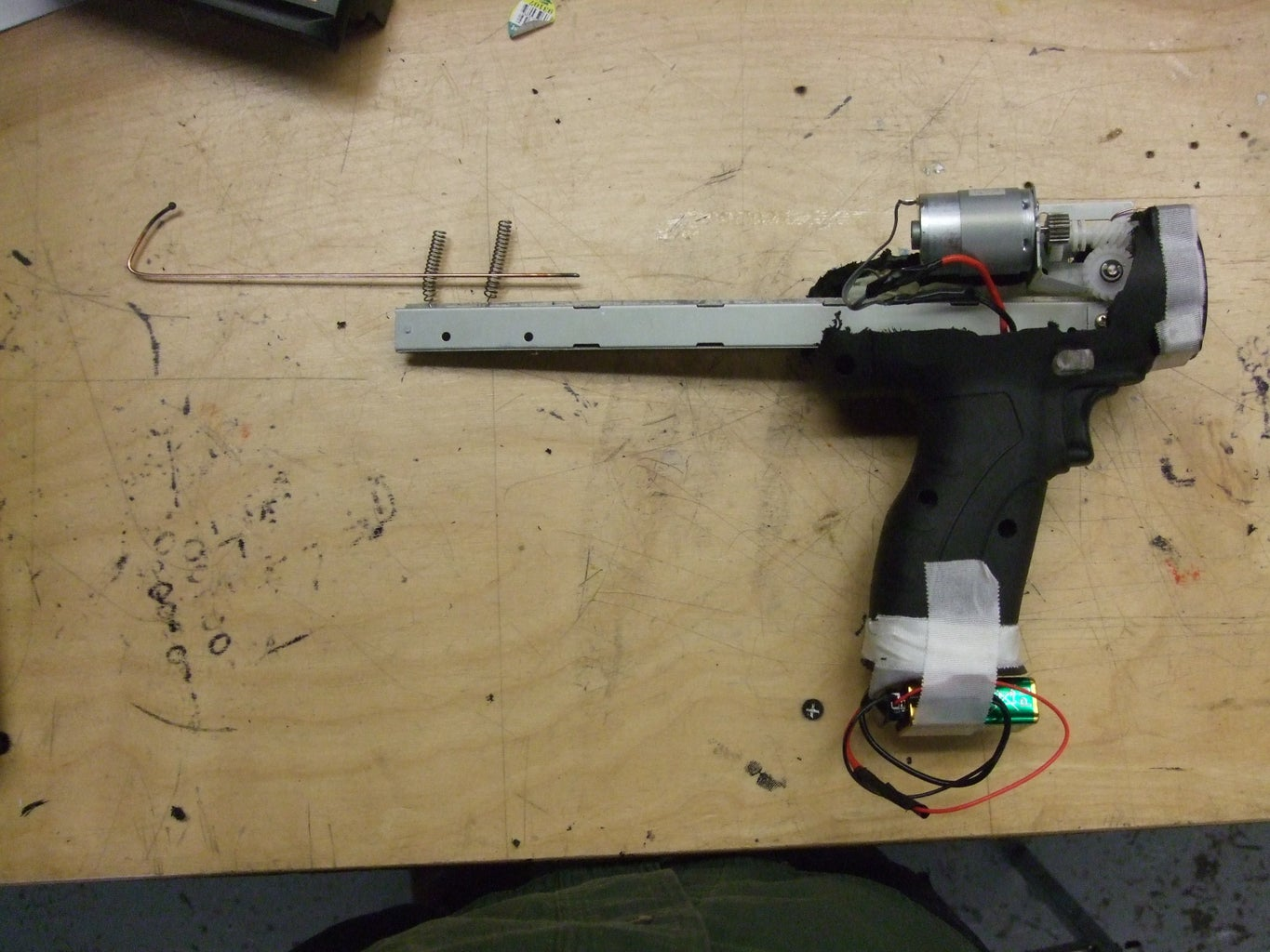 Add Heat Shield and Wire Guide