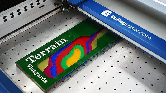 Enjoy Your New Laser-cut Acrylic Sign!