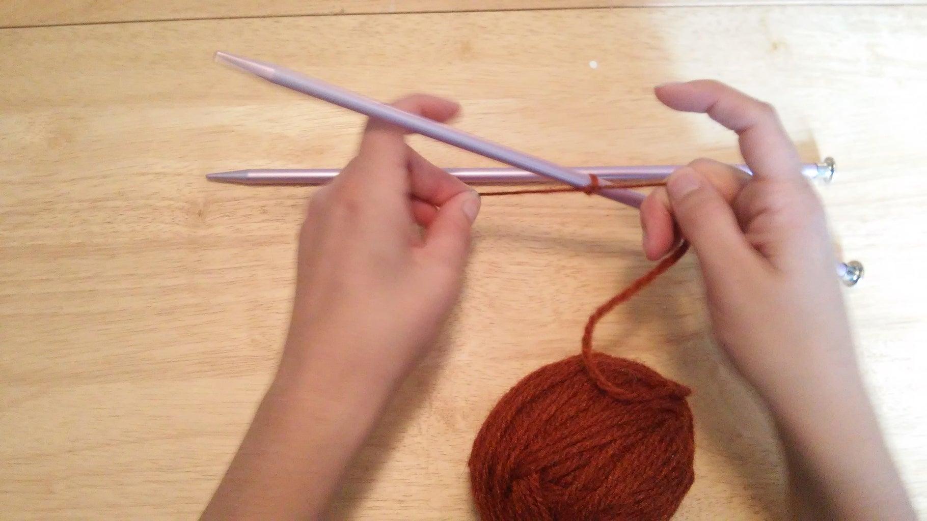 Start Casting on Yarn