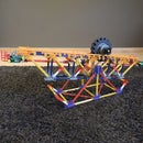 Knex Ball Machine Element: the Rolling Wheel