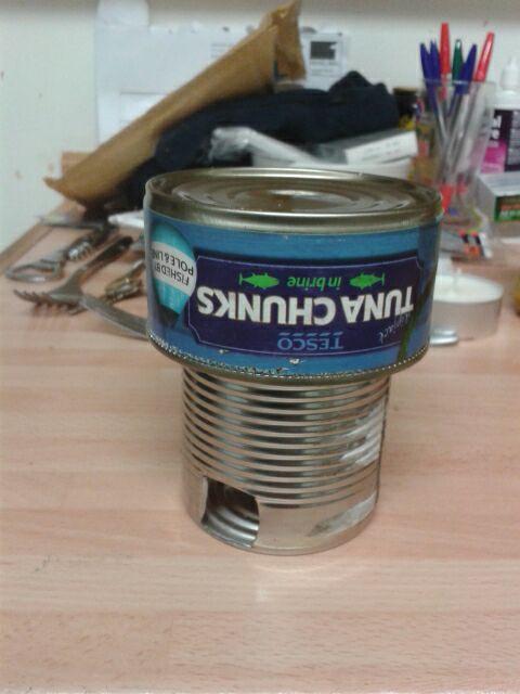 single tea light heater