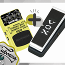VOX WAH V847 as an expression pedal to AUTO WAH (BEHRINGER DW400)