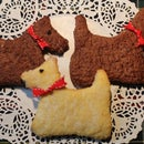 Scottie Dog Shortbread Cookies - Freestyle
