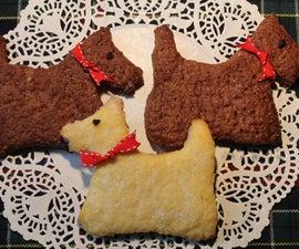苏格兰狗酥饼饼干-自由式