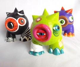 3D印刷设计师艺术玩具