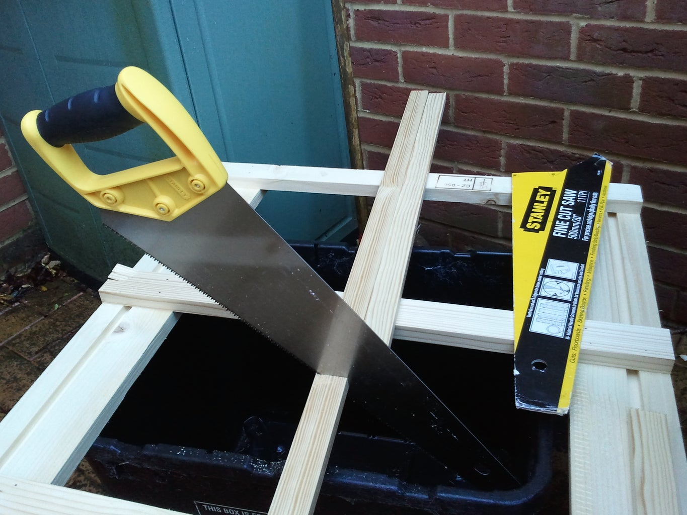 Chop and Measure Some Wood