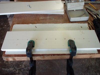 Prepare Your Timber/shelving Material