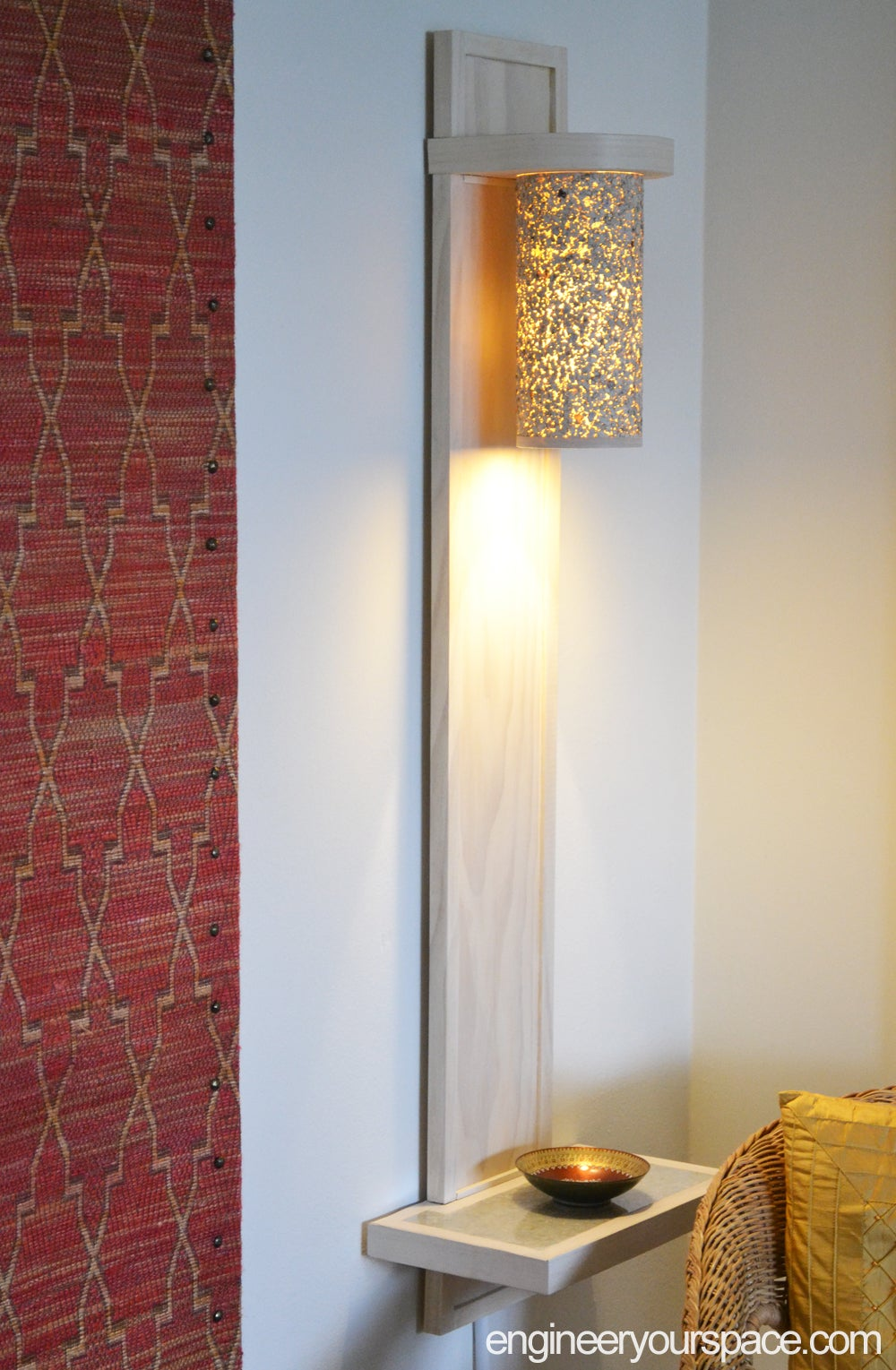 Install and Enjoy the Beautiful Lamp!