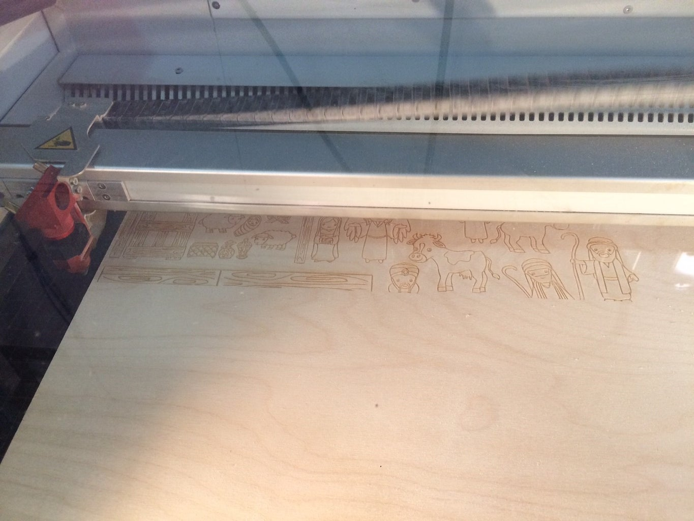 Cutting and Engraving on the Trotec Laser