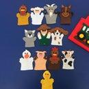 Finger Puppets- Farm Animals