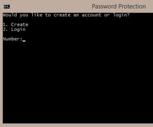 Batch Account Creator and Login With Hidden Password