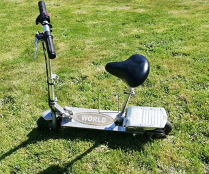 How to Restore an Old E-scooter