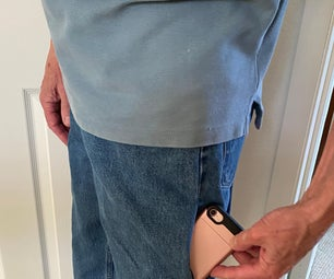 How to Make a Cell Phone Pocket in Your Pants