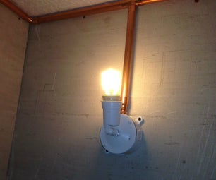 Modern Industrial Copper Room Lighting
