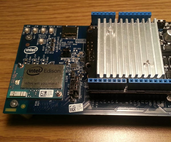 PWMSwizzling an Edison Arduino Breakout to Work With Grove Seeed Motor Shields