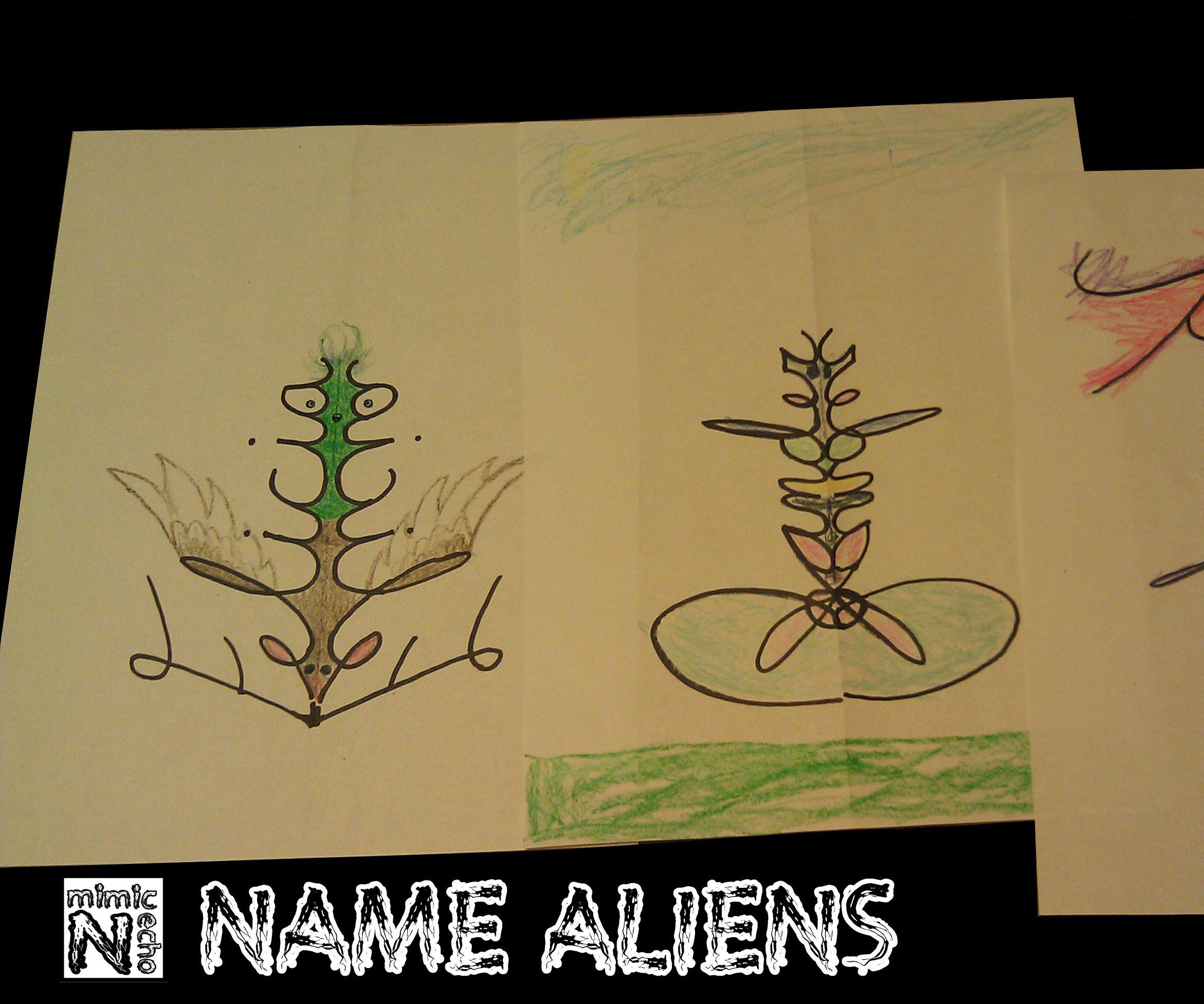 Name Aliens/Monsters