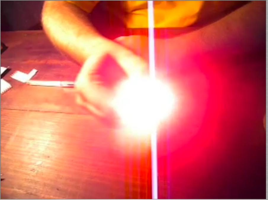 LED FLASHLIGHT MADE OF A MATCH-BOX