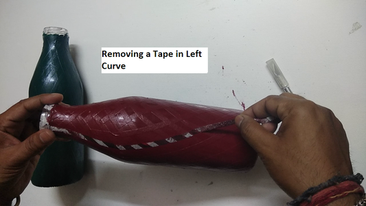 Removing the Doctor Tape