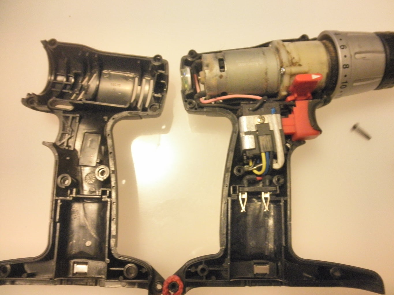Make a Cordless Drill to Run Off Batteries or a Wall Outlet