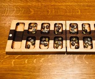 Mancala Board Using a Router Jig