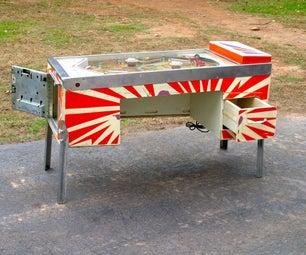 Pinball Machine Desk
